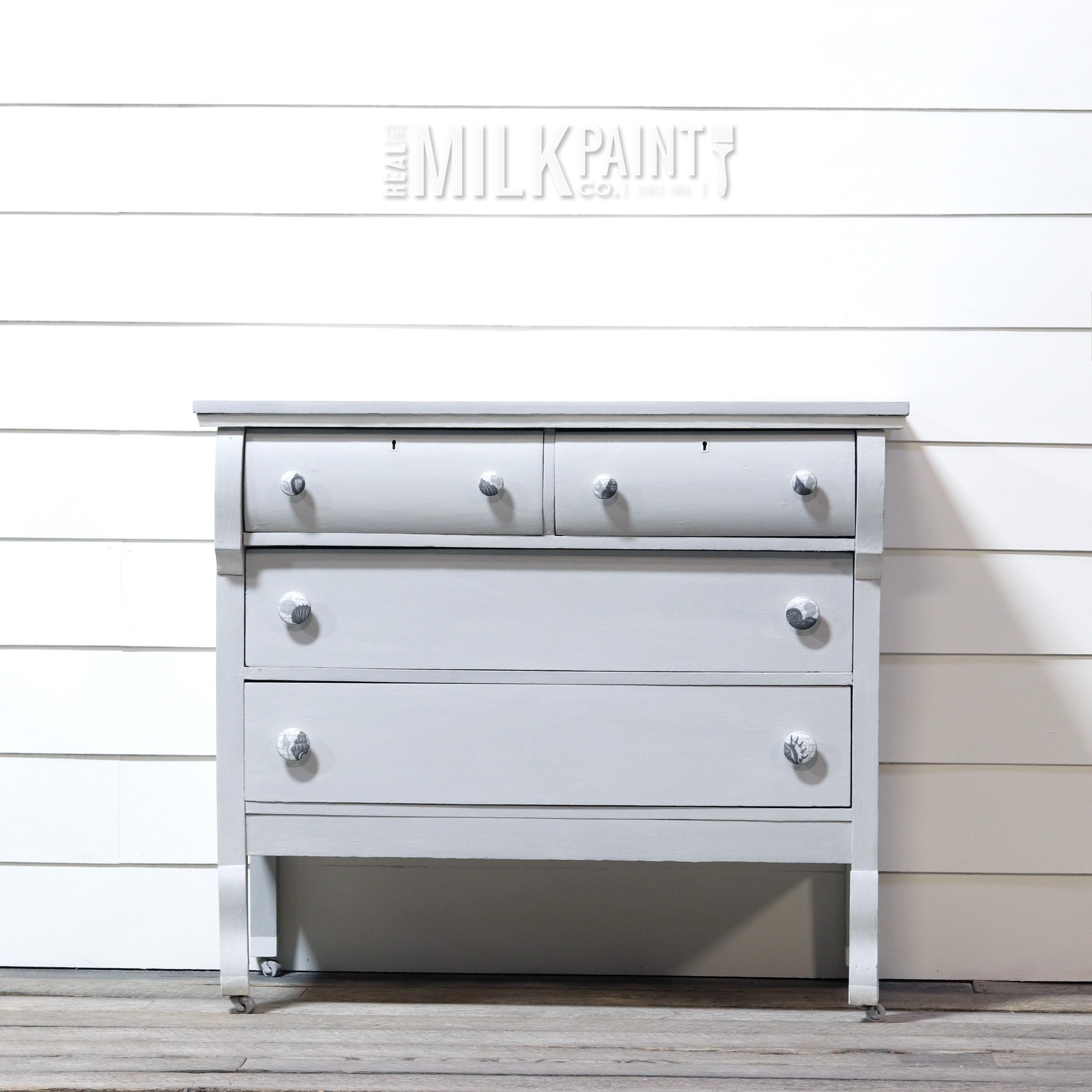 Oyster Grey Color Milk Paint