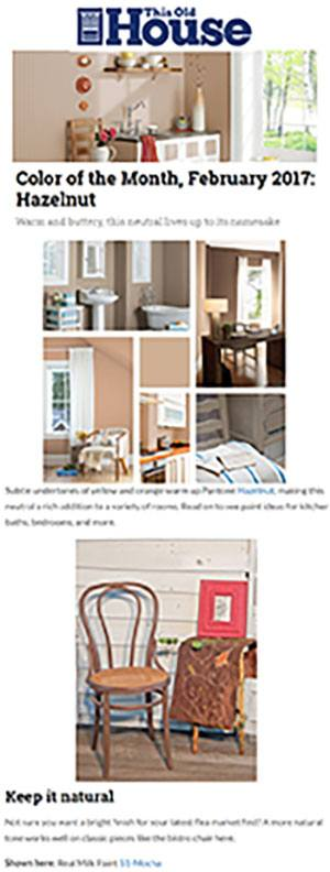 This Old House Online - Color of the Month