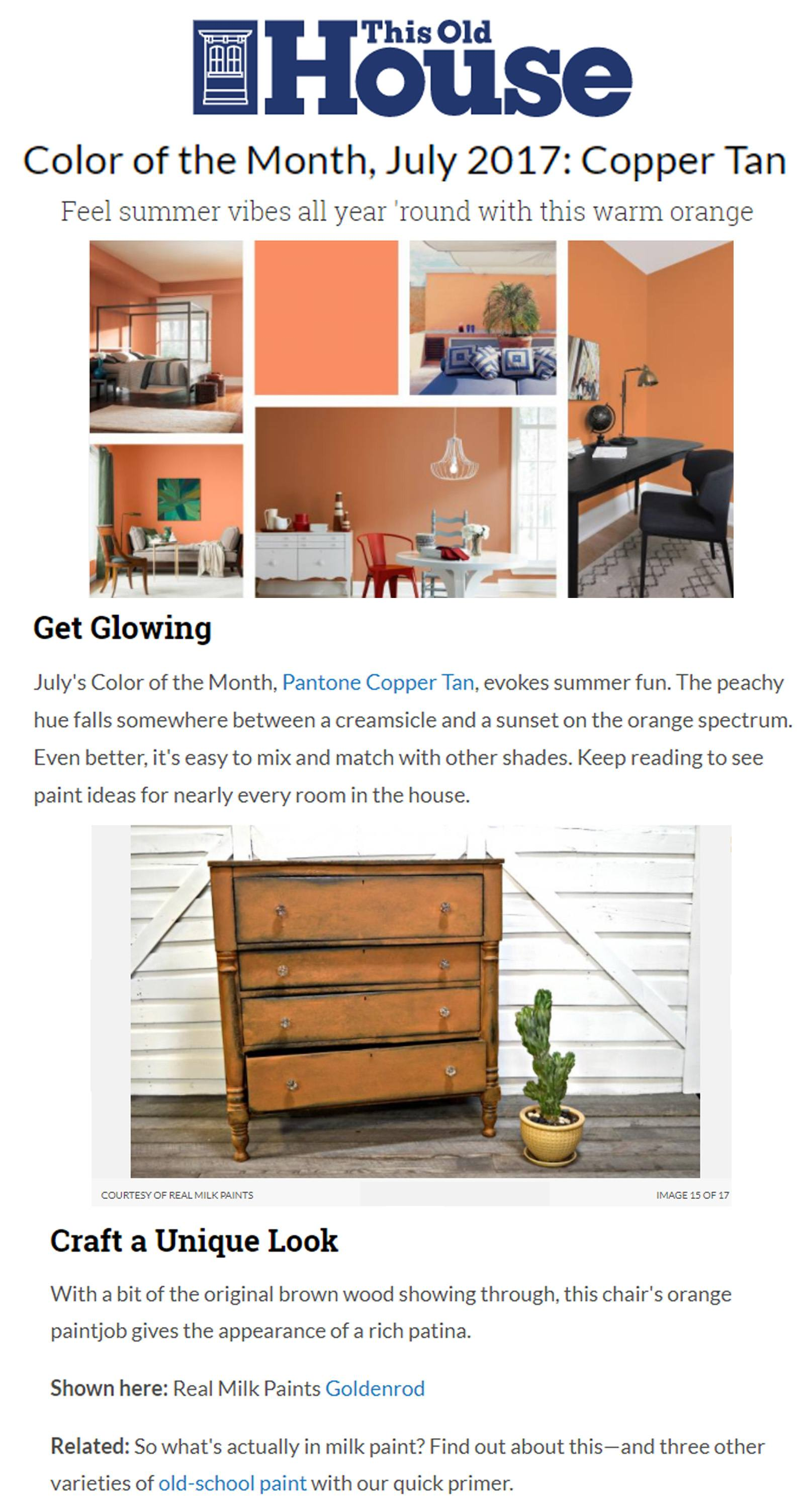 Color of the Month June