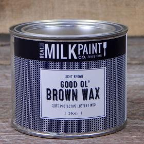 Good Ol' Brown Wax